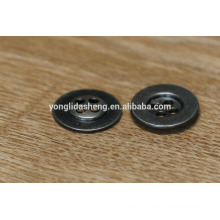 round shape fashion button metal jeans button with 4 hole
