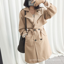 Fashion New Style Beiled Wrap Women Jacket Coat