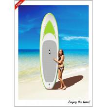 Светло-зеленая доска для серфинга Drop Stitch Inflatable Sup Paddle Board