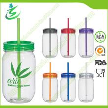 20oz BPA-Free Single Wall Mason Jar mit Stroh (MJ-F1)