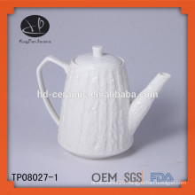chinese embossed tea pot