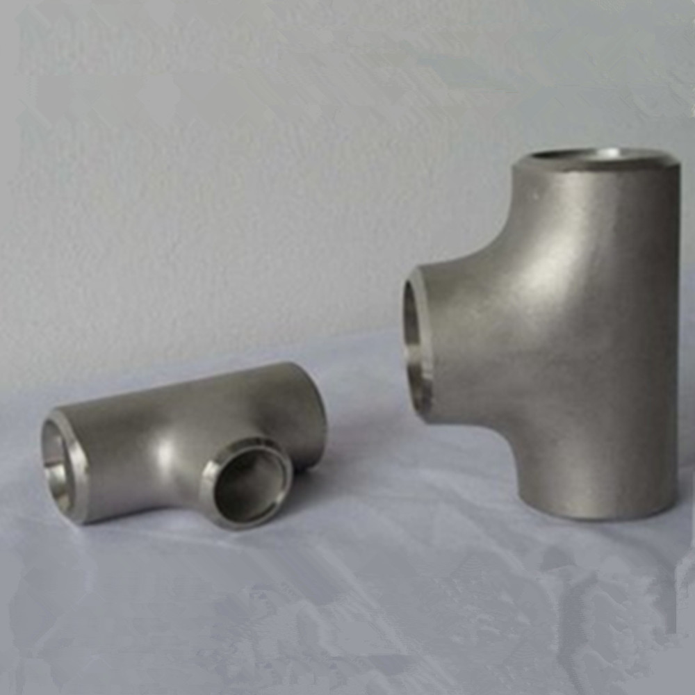 China types of carbon steel weld pipe fittings tee