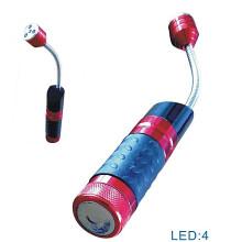 Tocha flexível do diodo emissor de luz da bateria seca (CC-021)