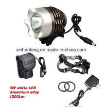 Luz recargable de la bicicleta para la bici (HLT-100)