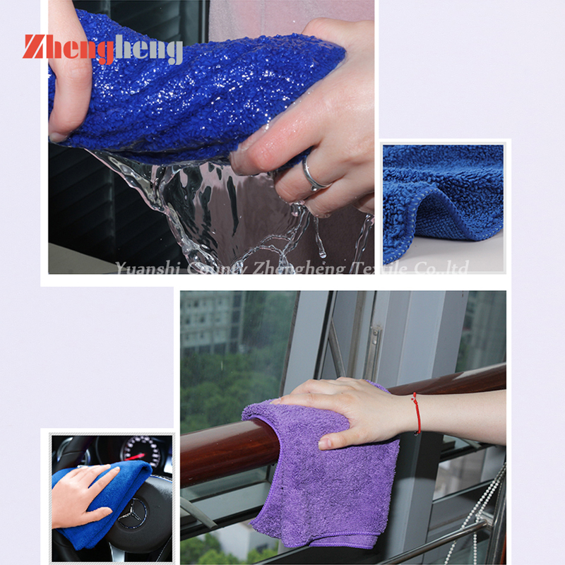 High and Short Loops Microfiber Towels (15)