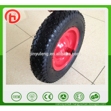 Cheap 4.80/4.00-8 PU foam wheel PU barrow wheel Tire for Trolley ,wheelbarrow