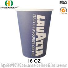 16 onzas (16oz-2) de la taza de café caliente desechables de alta calidad