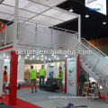 Expo booth!! Heavy duty double deck booth, exhibition booth design and build service