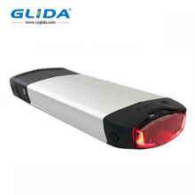 Ebike Battery 36V 48V Batería de litio de rejilla trasera