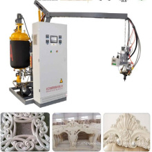 High density low pressure polyurethane foam machine