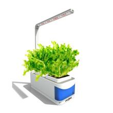 Venda quente Vermelho Azul Branco Cor 10 W LED Luz Crescente para Jardim Inteligente