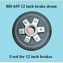 BD-655 brake drum for 12 inch brakes