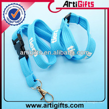 2013 Custom printed logo neck lanyards for keys