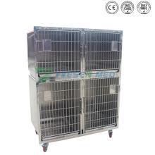 Ysvet1220 Medical Veterinary 304 jaulas de perro de acero inoxidable
