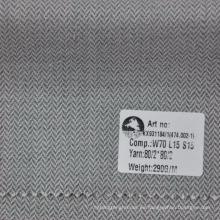 tela de abrigo de los hombres de seda del lino de la nueva tela del estilo