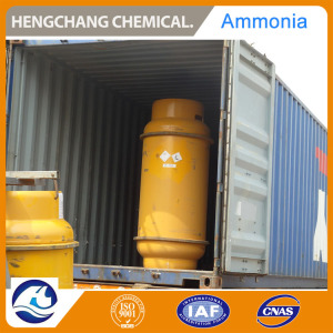 Bulk Anhydrous Ammonia Gas 99.8% in Cylinders for UAE