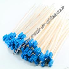 Conducto de saliva de aspiración de plástico estéril desechable médico