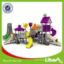 Villa Series Outdoor Padded Playground LE-BS012