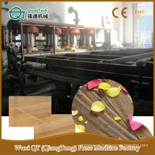 Panel de suelo hidráulico de ciclo corto de línea de prensa caliente