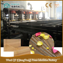 hydraulic floor panel short cycle hot press line