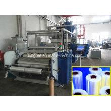Linha plástica da extrusão do filme de estiramento do PE / LLDPE / LDPE / linha de produção plástico do envoltório