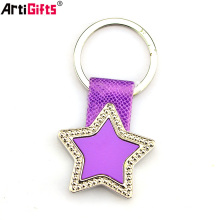 Best womens designer leather keychain strap for keys