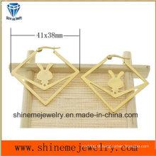 Moda Body Jewelry Vacuuming Plating Gold Stud Stud (ERS6975)