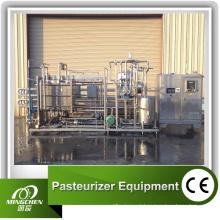 Esterilizador automático da tubulação do leite Uht do suco