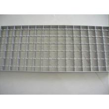 Gitterrost aus verzinktem Stahl für Entwässerungsrinne