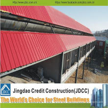 Construção de estrutura de aço galvanizado baixo preço de construção