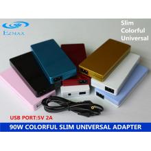 YH-8008 Adaptateur Slim coloré 90W Adaptateur secteur Adaptateur pour ordinateur portable