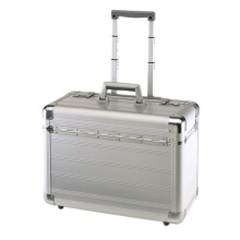 Alminium Pilot Case & Box con panel de aluminio