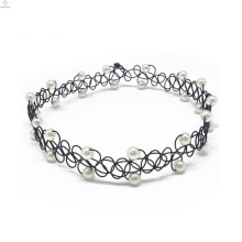 2017 Tattoo Diamante Samt Diamant Coil Choker Halskette
