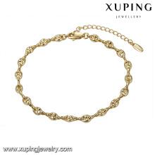 74751 Estilo simples pulseira de moda unisex jóias high-end preço barato pulseira cadeia de fábrica por atacado