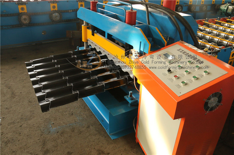 glazed tile forming machines