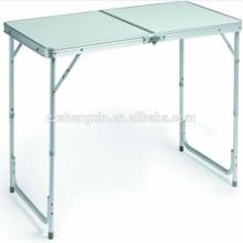 Faltbarer Metallrahmen MDF Tisch