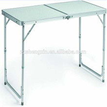 Folding Metal Frame MDF Table