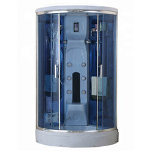 Self Contained Steam Bath Fibreglass Shower Cubicle