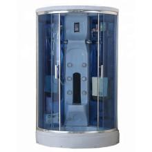 Cabine de duche de fibra de vidro para banho de vapor autónomo