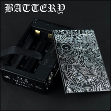 Graverad Dual 18650 Guardian Angel Box Mod