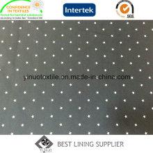 100% Polyester Herrenjacke 260T Twill Print Futter