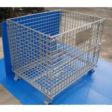 Горячий Гальванизированный или Покрашенный порошок Штабелируемый контейнер провода