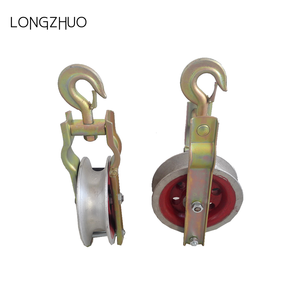 Aluminium Wheel Cable Guide Pulley