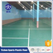 Fábrica de piso de esporte bonito pvc