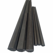 High quality factory sale anti-oxidation electrode production artificial 6mm graphite rod