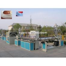 PVC-Faser verstärkte Schlauch-Verdrängungs-Linie Maschine