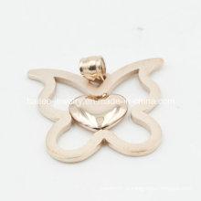 Moda jóias pingente de aço inoxidável para mulheres