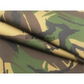 Tissu anti-infrarouge camouflage Woodland CVC pour les Pays-Bas