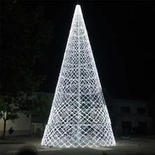 Luz decorativa do motivo da árvore de Natal conduzida