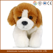 Animated stuffed plush soft toy dogs with big head